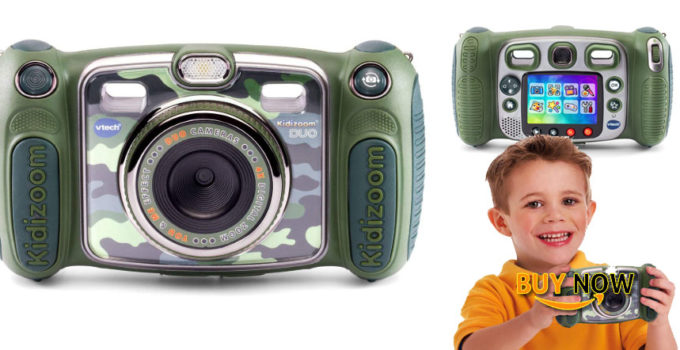 buy now VTech Kidizoom Duo Selfie Camera Amazon Exclusive Camouflage