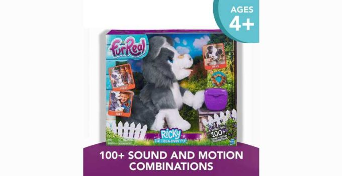 FurReal Friends Ricky Trick-Lovin Interactive Plush Pet Toy Review