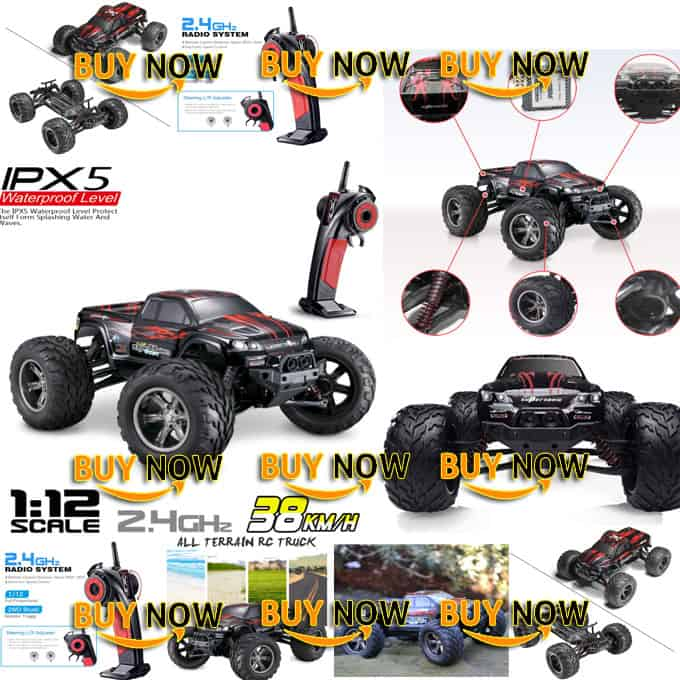 Hosim High Speed RC Off-Road Car 9112 High Speed All Terrain RC Car