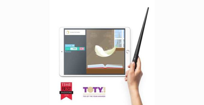 Kano Harry Potter Coding Kit-Build a Wand-Learn To Code Review