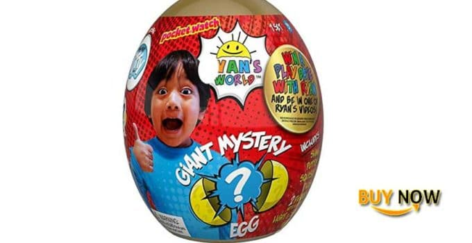 Ryan's World Giant Gold Mystery Egg Cool Toys Review