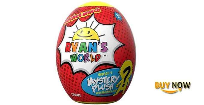 Ryan's World Surprise Egg Plush Clip Review