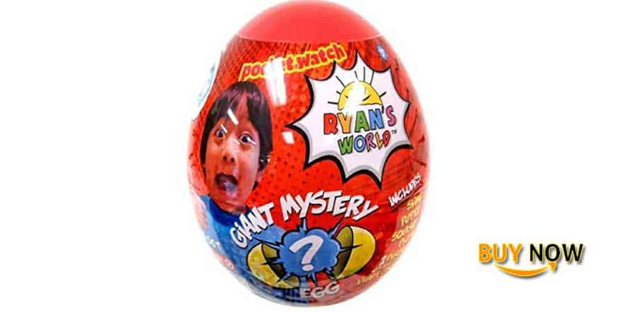 Ryan's World Surprise Mystery Egg Cool Toys Review