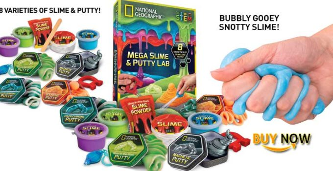 mega slime and puddy lab national geographic