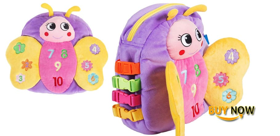 BUCKLE Blossom Butterfly Backpack