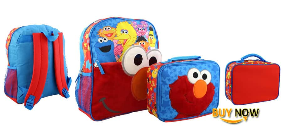 Elmo Kids Character Backpacks