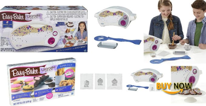 Easy Bake Oven + Star Edition Ultimate Super Pack Refill Set Review