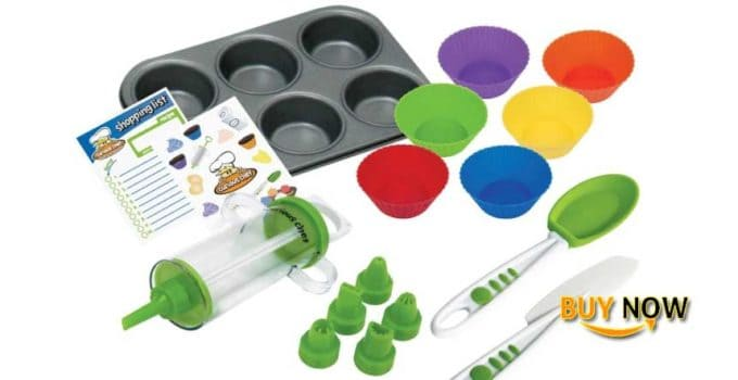 Best Curious Chef TCC50165 16-Piece Cupcake and Decorating Kit