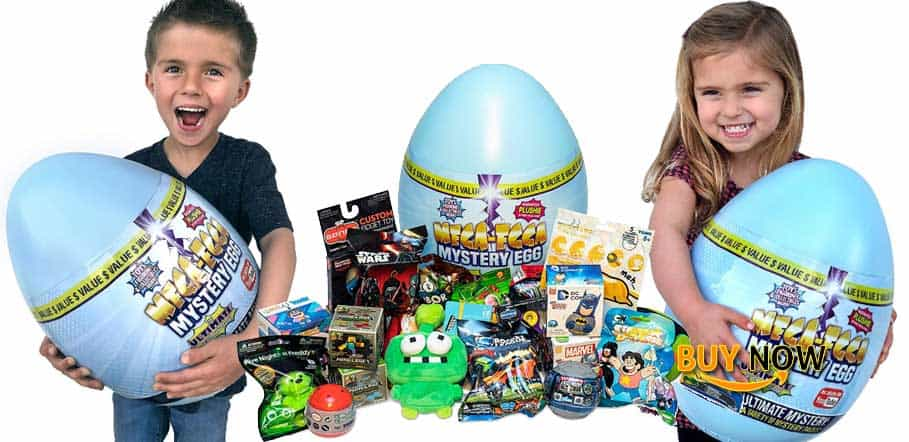 Mega-Egga Toys Ultimate Surprise Giant Mystery Egg