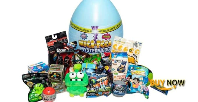 POG Mega-Egga Toys Ultimate Surprise Giant Mystery Egg Blue Color