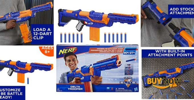 Best Nerf N-Strike Elite Delta Trooper Quick Review