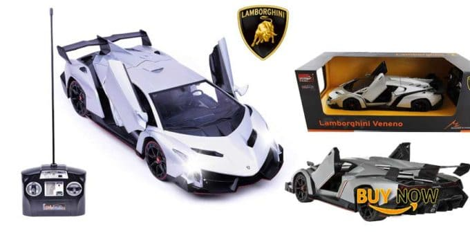 Discover Haktoys Licensed Lamborghini Veneno Roadster 1:14 Scale RC Sports Car
