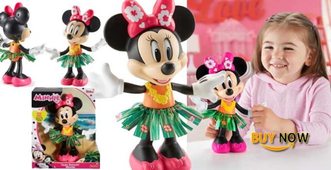 New Fisher-Price Disney Hula Dancin' Minnie 2019