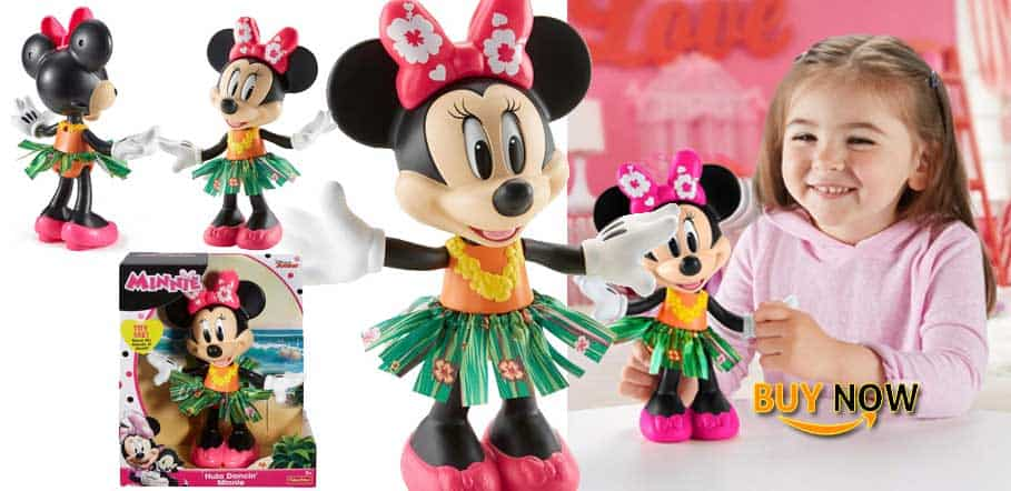 New Fisher-Price Disney Hula Dancin' Minnie 2019