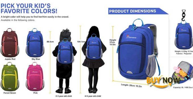Order Mountaintop Kids Backpack/ Toddler Backpack/ Pre-School Kindergarten Toddler Bag
