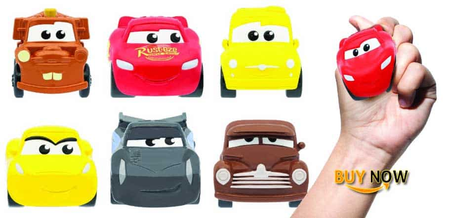 Cars Mash'Ems Series Squishy Toy Review