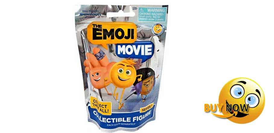 FUNNIEST THE EMOJI MOVIE SERIES 1 COLLECTIBLE FIGURE BLIND BAG