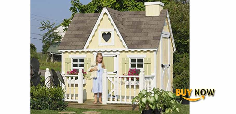 Get Little Cottage Company Victorian DIY Playhouse Kit Review Size 6' x 8'