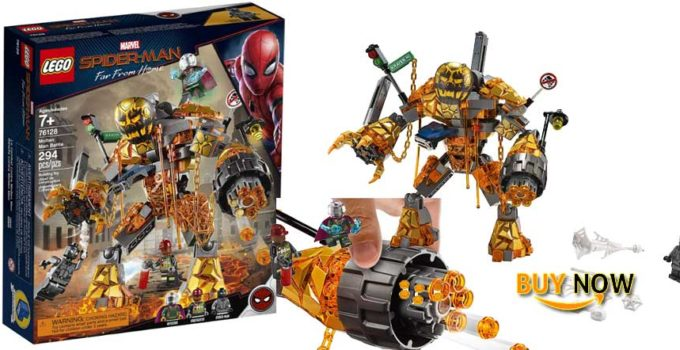 LEGO Marvel Spider-Man Far From Home Molten Man Battle 76128 2019