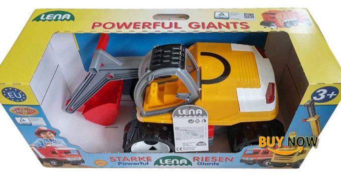 Lena Starke Riesen Powerful Giants Plastics Backhoe Made In Germany