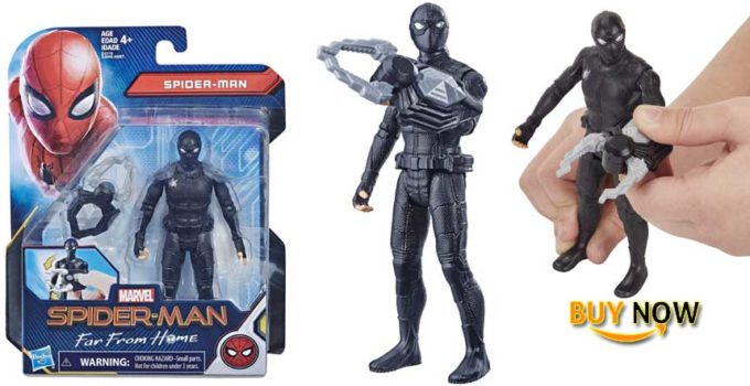 "Spider-Man: Far from Home Concept Series Stealth Suit 6"" Action Figure"