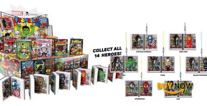 Tokidoki Full Case of 24 Marvel Frenzies Series 2 Blind Box Vinyl Mini Figures Review