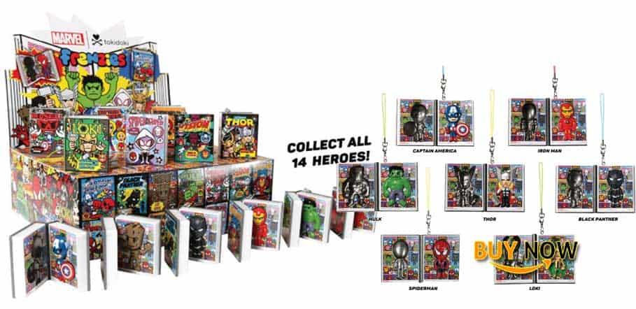 Tokidoki Full Case of 24 Marvel Frenzies Series 2 Blind Box Vinyl Mini Figures Review