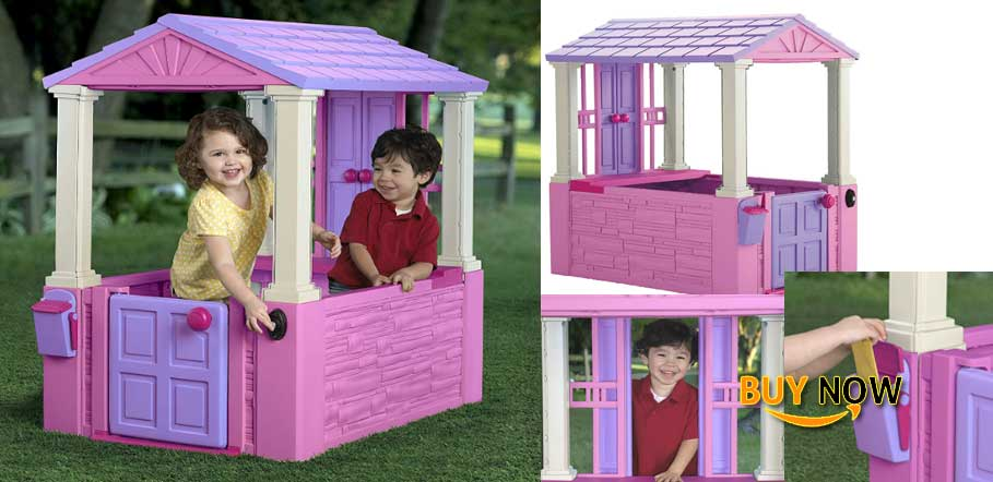 American Plastic Toys My Very Own Dream Cottage Playhouse Popular Review