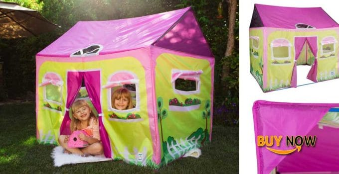 """Buying Pacific Play Tents 60600 Cottage House Play Tent - size 58"""" x 48"""" x 58"""""""