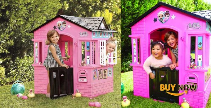 L.O.L. Surprise! Indoor & Outdoor Cottage Playhouse with Glitter
