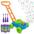 Lydaz Bubble Mower for Toddlers, Kids Bubble Blower Machine Lawn Games, Outdoor Push Toys, Christmas Birthday Gifts for Preschool Baby Boys Girls