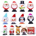 Max Fun 12pcs Christmas Stocking Stuffers Wind Up Toys Assortment for Christmas Party Favors Goody Bag Filler (Christmas Wind up Toys)