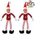 JOYIN 2 Packs Girl Elf Plush red Doll Soft Plush Toy 12 inches, Naughty Christmas Novelty Toy, Christmas Party Favors, Holiday Decor and More!