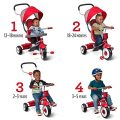 """Radio Flyer 4-in-1 Stroll 'N Trike, Red Toddler Tricycle for Ages 1 Year -5 Years, 19.88"""" x 35.04"""" x 40.75"""""""