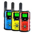 TOWOLD 3 Pack Kids Walkie Talkies, Toys for 4 5 6 7 8 Year Old Boys and Girls 22 Channels 2 Way Radio Boys Toys Gifts for Boys on Birthday,Outside Adventures and Camping(Orange Blue Yellow)