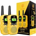 Toys for 3-6 Year Old Boys Girls, dmazing Two Way Radio for Kids Long Range Halloween Christmas Birthday Gifts for 6-12 Year Old Boys Toys Age 3-6 Boys Stocking Fillers Yellow