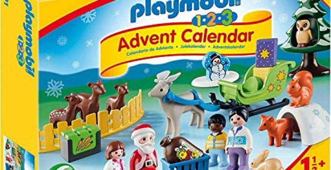 PLAYMOBIL 1.2.3 Advent Calendar - Christmas in The Forest