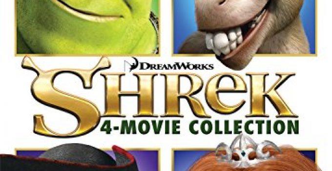 SHREK 1-4 COLL DVD+DHD G4V.080